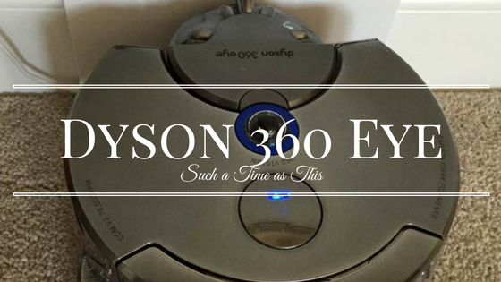 Dyson 360 Eye Robotic Vacuum {Review}