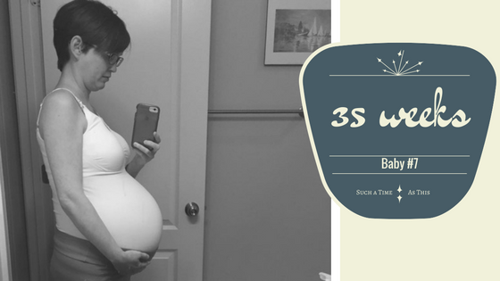 35 weeks Pregnant – Update Pregnancy #7
