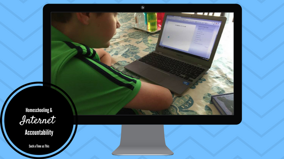 Internet Accountability for Homeschooling Families