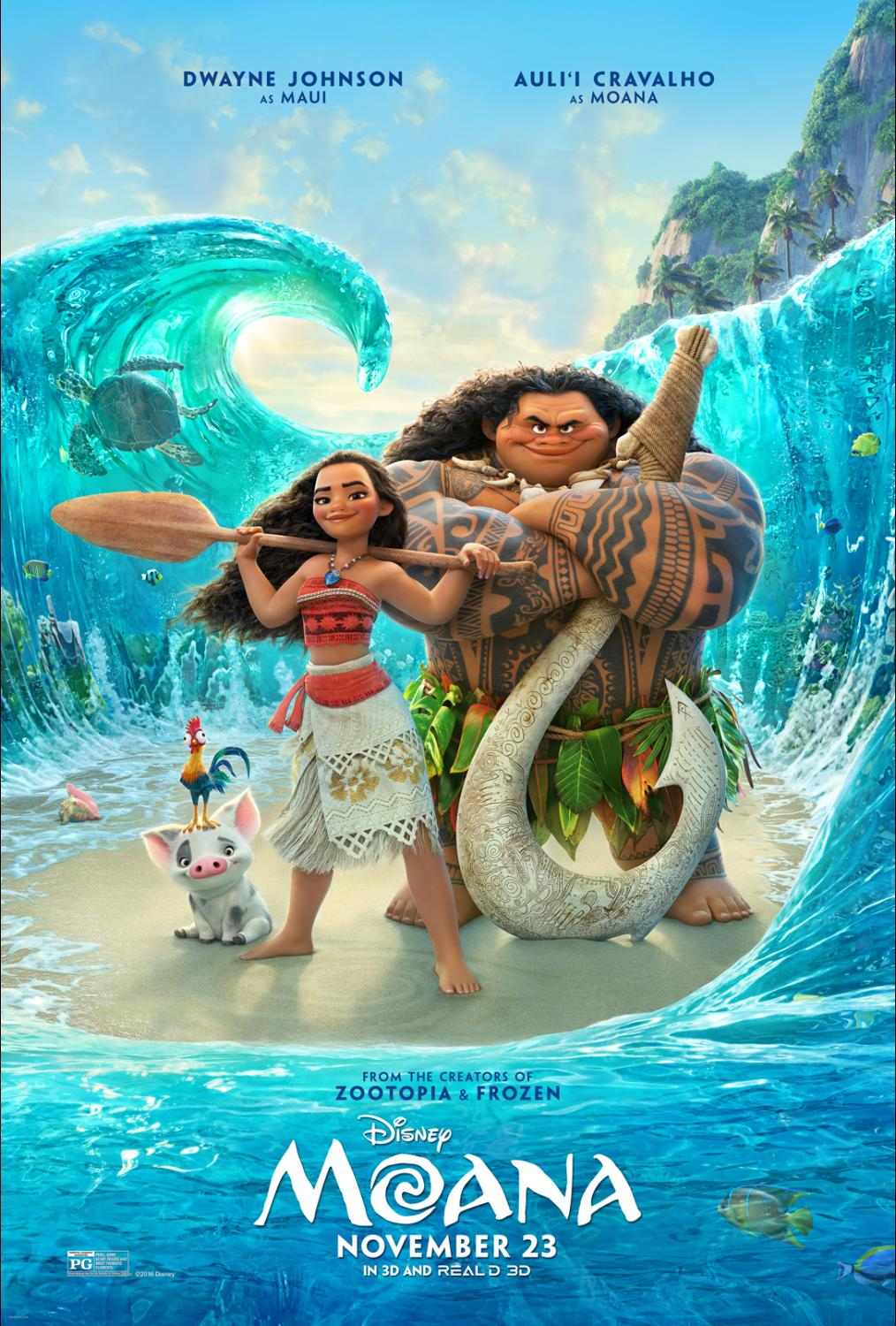 How to turn Disney's Moana into an Educational Adventure {Moana Review}