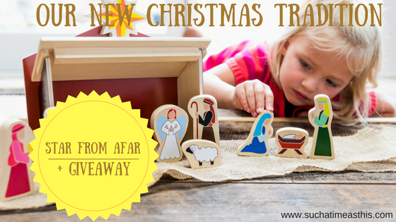 A New Christmas Tradition: Star from Afar {plus coupon & giveaway!!!}