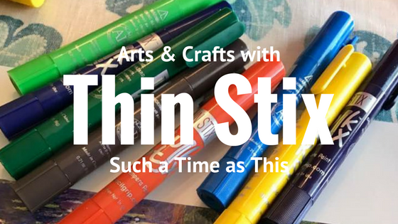 Thin Stix for Easy Homeschool Art