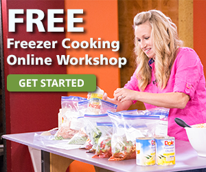 MyFreezEasy's Virtual Freezer Meal Prep Weekend is Starting Soon!