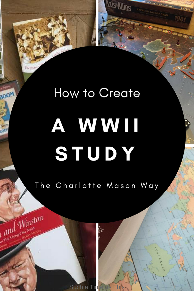 homeschool world war II study