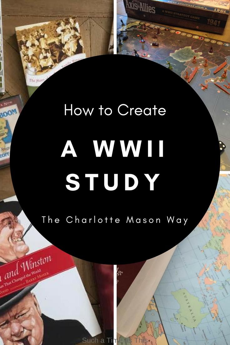 homeschool world war II study