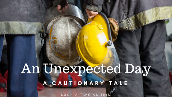 An Unexpected Day {A Cautionary Tale About Natural Gas In Your Home}