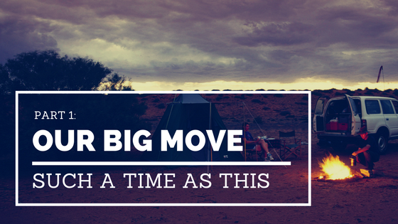 Our Big Move {Part 1: Moving with a Large Family}