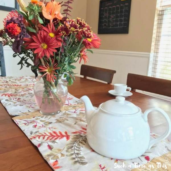 Kick off to Fall: Poetry Tea Time