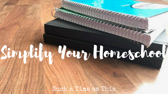 Simplify Your Homeschool with Notebooking Journals
