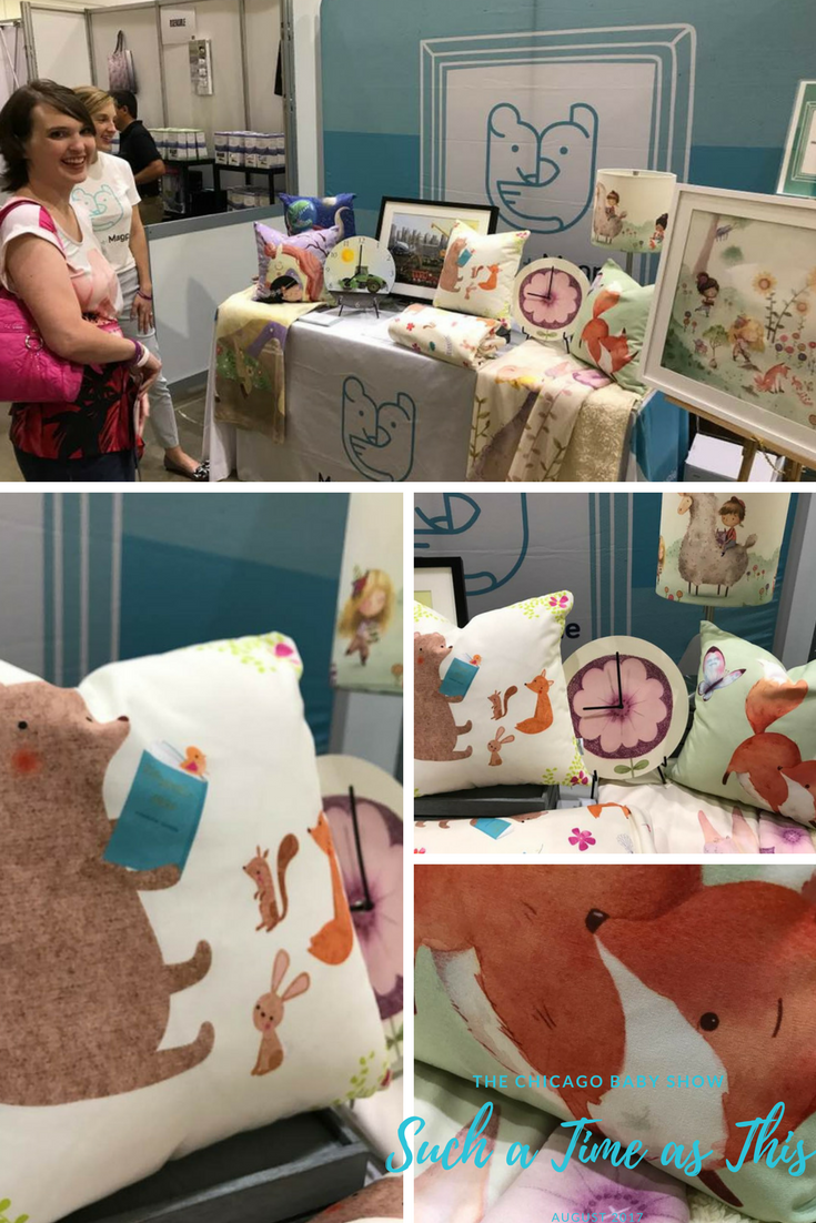 Mouse and Magpie at the Chicago Baby Show