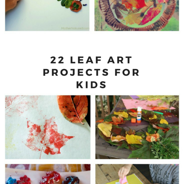 22 Colorful Ways to Make Cute Leaf Art with your Children