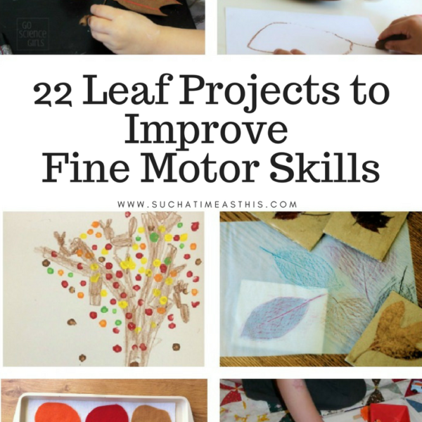 22 Leaf Projects to Improve Your Child's Fine Motor Skills