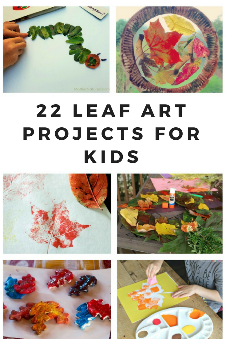 leaf art projects