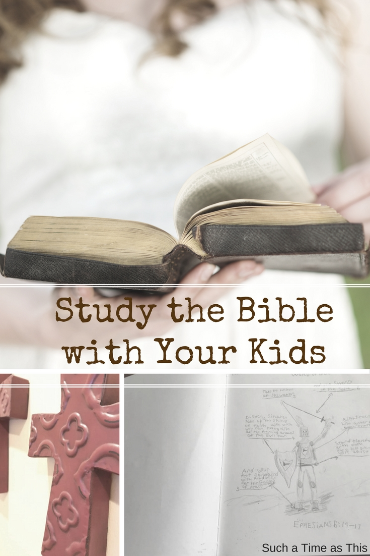 Study the Bible with Your Kids {Unseen: The Armor of God for Kids Bible Study}