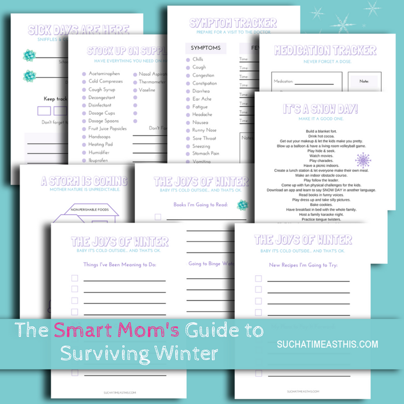 printable surviving winter flu and cleaning up the stomach flu