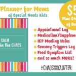 planner special needs