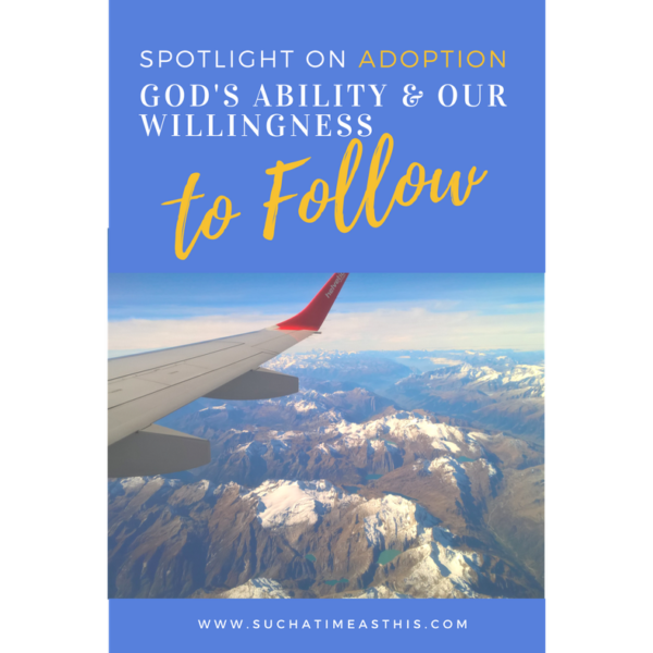 What You Need to Know About God's Ability and Our Willingness {International Adoption}