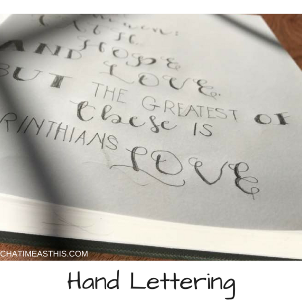 The 5 Things You Need to Get Creative with Hand Lettering