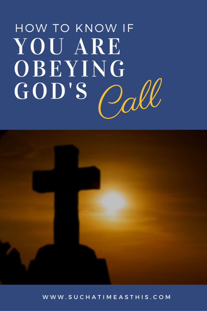 God's call on our lives